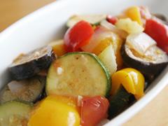 ラタトゥイユ(野菜の煮込み)